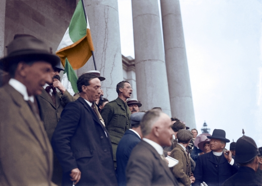Eamon de Valera in Ennis